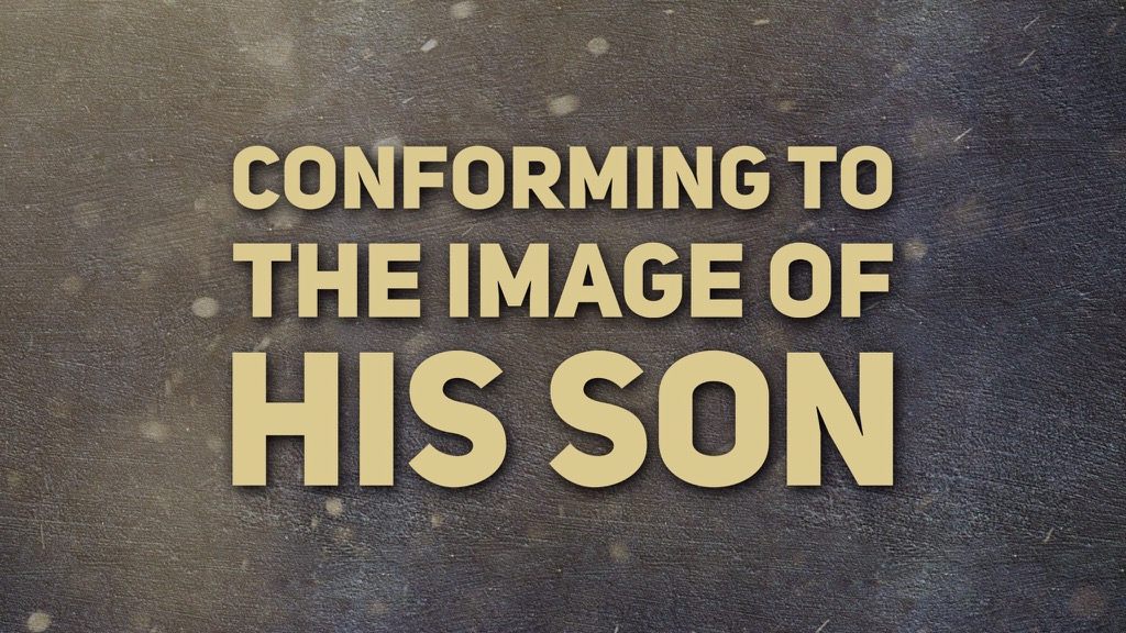Conforming to the Image of His Son